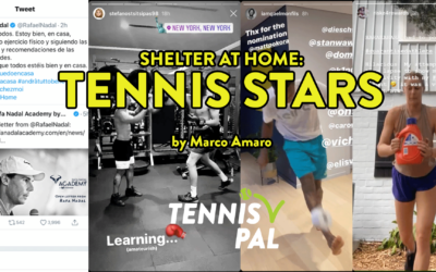 At Home with Tennis Stars