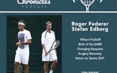 Roger Federer interview with Stefan Edberg gives update on surgery recovery, return to tennis, and the SABR history!