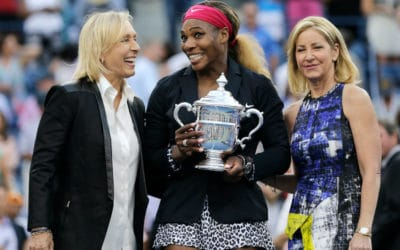 Is Evert and Navratilova greater than Steffi and Serena?