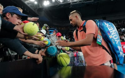 Kyrgios Winning Hearts – Australian Open 2020