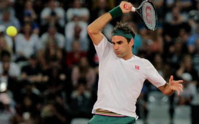 Although Federer tops money list, Michael Jordan still king