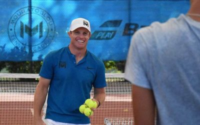 Want to Play Better Tennis? Find Your Balance